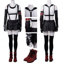 Tifa Cosplay Costume Final Fantasy VII Remake Cosplay Suit
