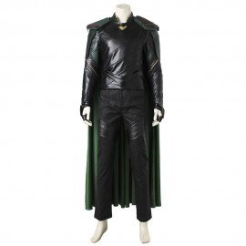Movie THOR 3 Ragnarok Loki Cosplay Costume