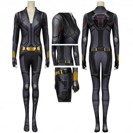 Black Widow 2020 Natasha Romanoff Black Cosplay Jumpsuit