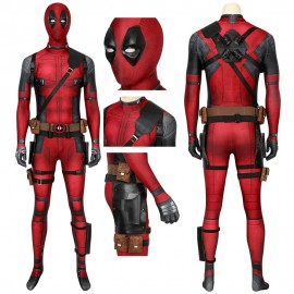 Deadpool Cosplay Costume 40D Polyester Wade Wilson Cosplay Suit