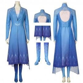 Disney Frozen 2 Cosplay Costume Elsa Cosplay Suit