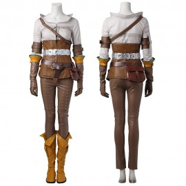 Wild Hunt Cirilla Cosplay Costumes The Witcher 3 Cosplay Outfit